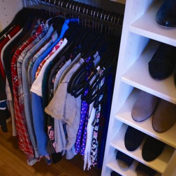 2 Organized Custom Closets with Before & Afters