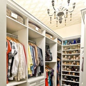 Live with what you LOVE: Closets & Wardrobes