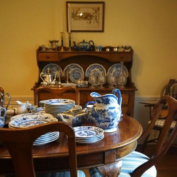 Blue & White Redwood City Estate Sale