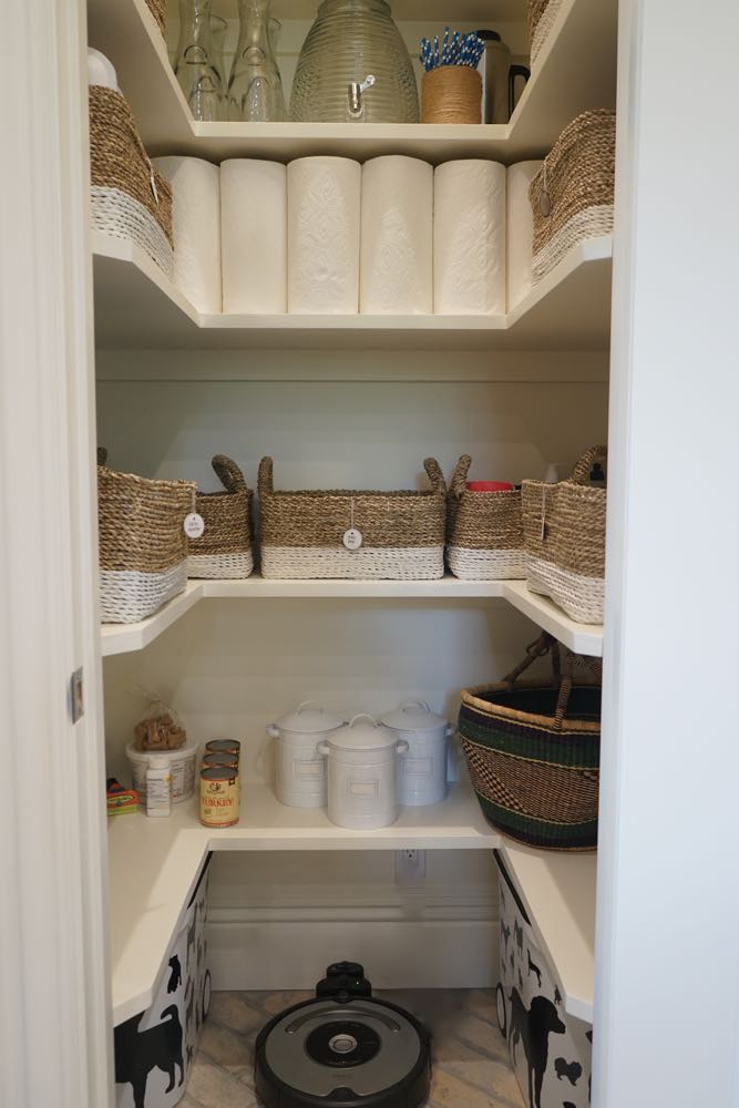 Organized Household Overflow Pantry for Entertaining, Costco, and Pets