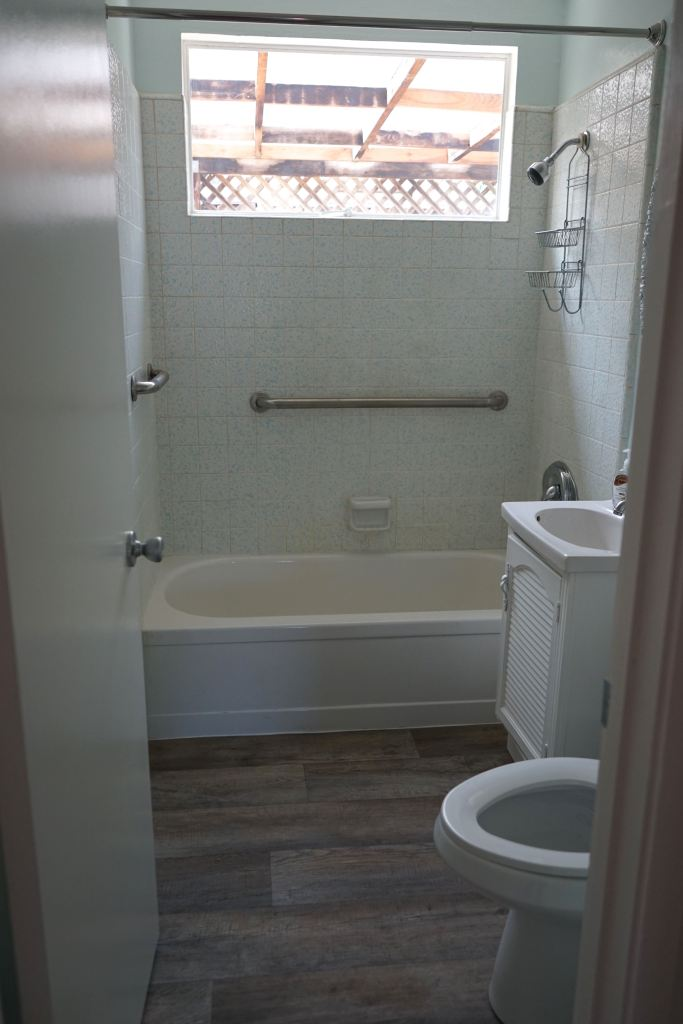 Silicon Valley bathroom makeover: Before
