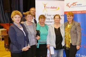 20.03.2015: Gewinnerinnen der Seniorenreise-Gutscheine im Wert von je 200 Euro (Foto: Michael Heitra).
