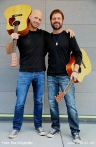 Herbert Fröhler und Wolfgang Stefl sind AUSTRIA2 (Foto: zVg).