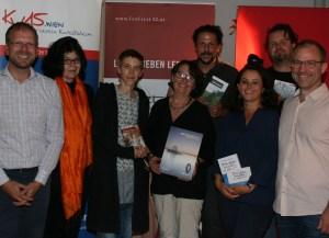 Autoren und Musiker fühlten sich beim Kulturverein Rudolfsheim wohl(Foto: Volker Tomitsch).