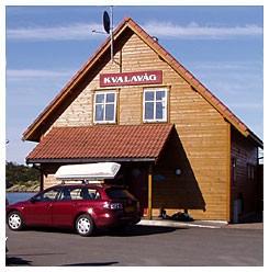 Affären i byn Kvalavåg. Lägg märke till stavningen, det finns många olika stavningar på namnet Kvalavåg.