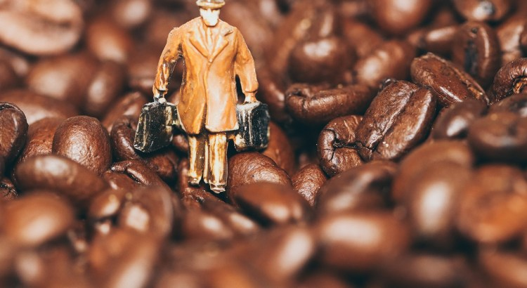 Man Miniature Figure Coffee Beans  - Photorama / Pixabay