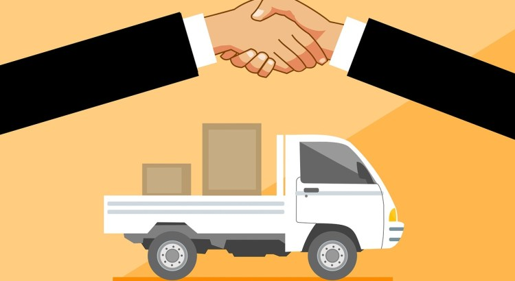 Delivery Truck Handshake Concept  - mohamed_hassan / Pixabay
