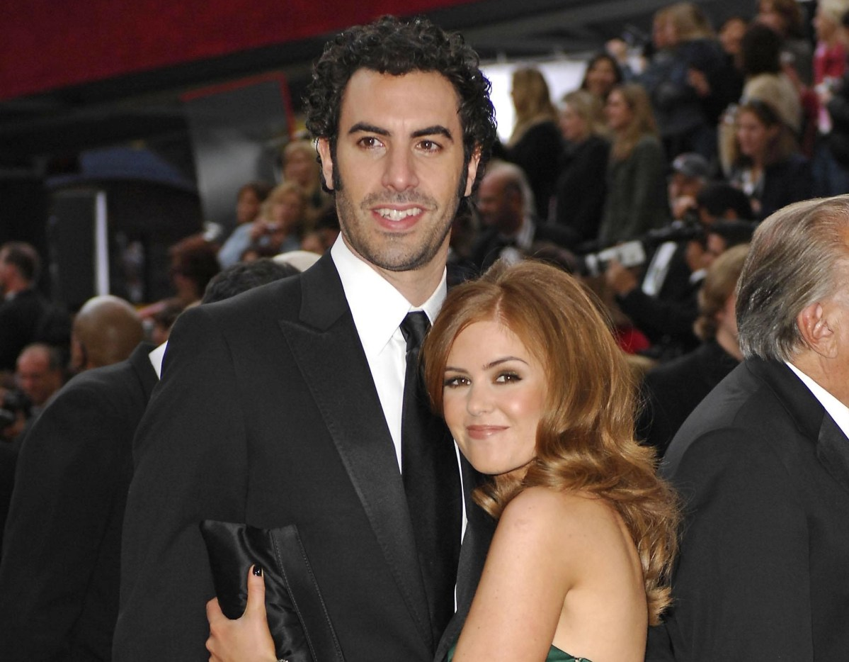 Sacha Baron Cohen and Isla Fisher named their baby boy