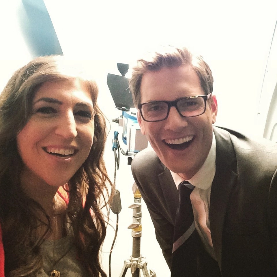 mayim and ryan