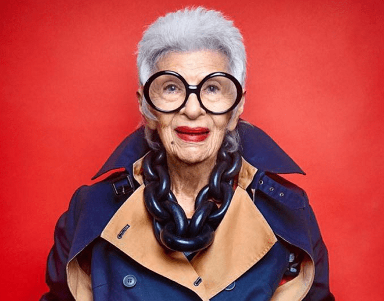 95 Year Old Jewish Designer Iris Apfel On Aging Gracefully Get Up Off Your Butt Amp Do Something