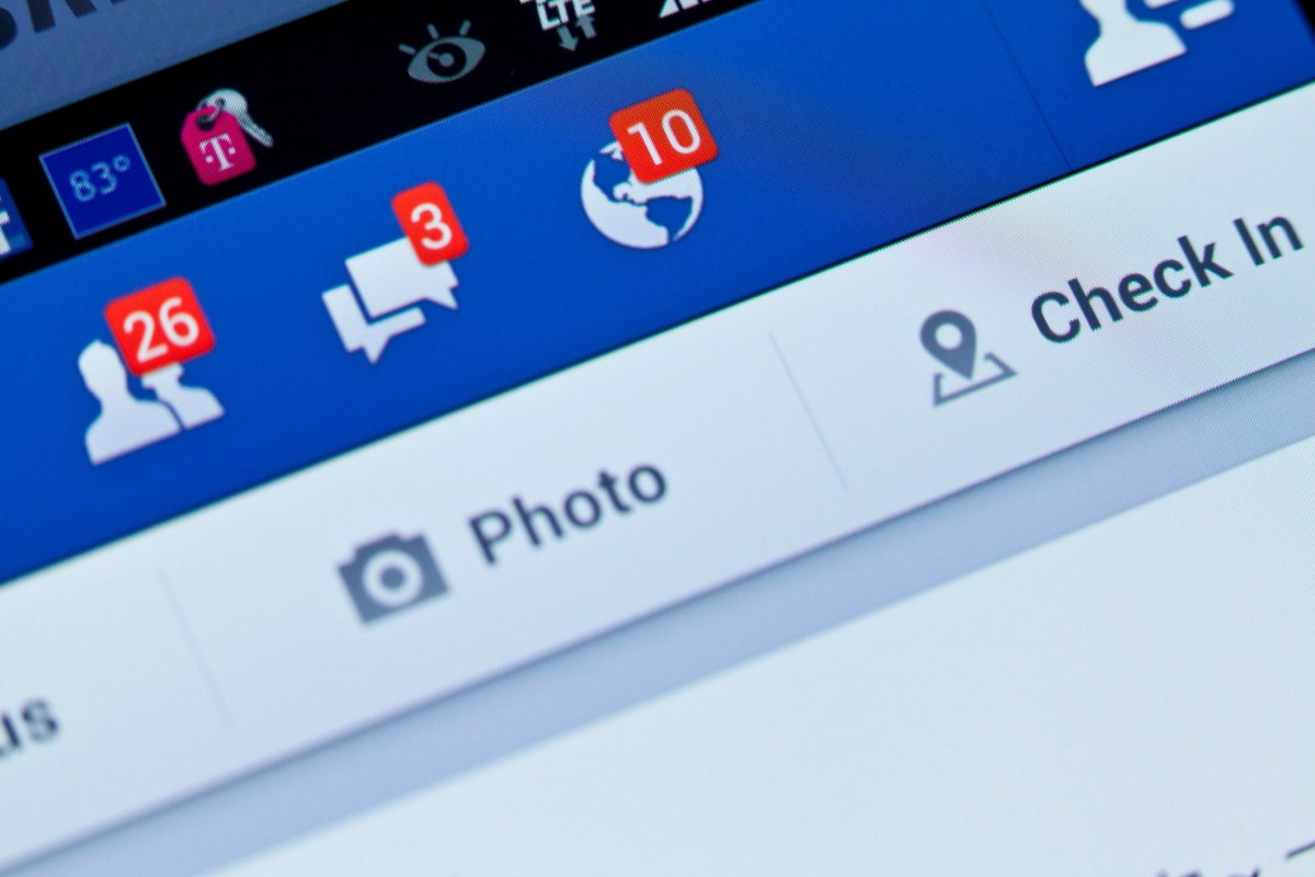 """""""New York City, USA - August 25, 2013: Close-up view to facebook notifications of friend request and message on a smart phone. Facebook is a social networking service, owned and operated by Facebook, Inc."""""""