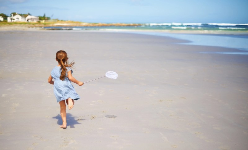 Reveling in the freedom of childhood