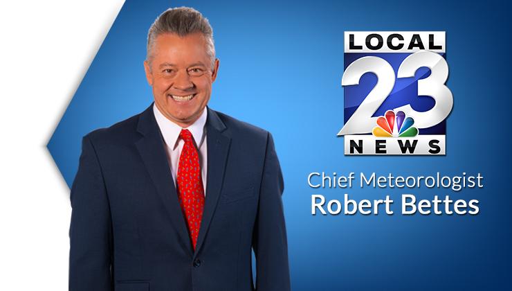 Chief Meteorologist Robert Bettes