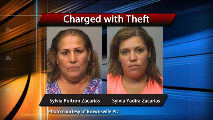 Women, using self checkout register, arrested on theft charges