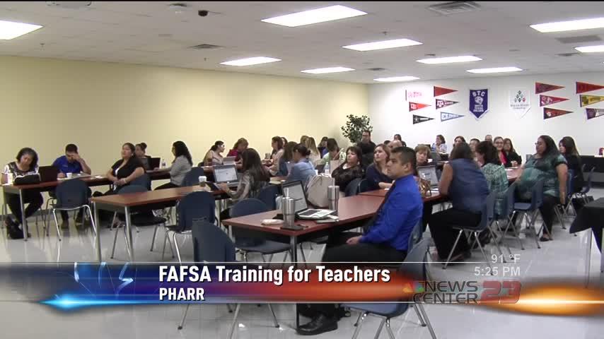 FAFSA Training for Teachers in Pharr_39628522-159532