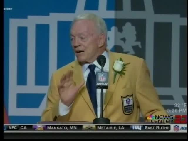 Jerry Jones Inducted Into the NFL Hall of Fame_51773053