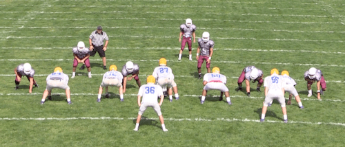 Greensburg Central Catholic Football Vs Derry Area Scrimmage