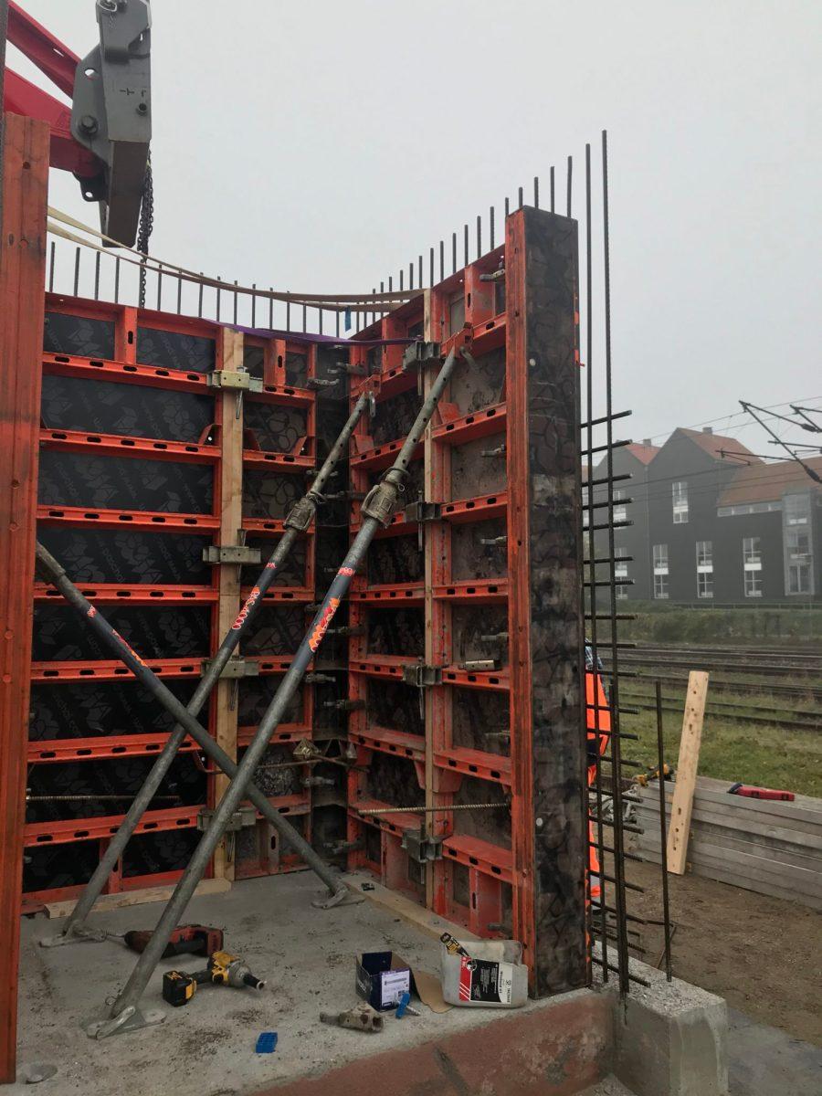 KW Betonteknik - Stormbroen i Slagelse