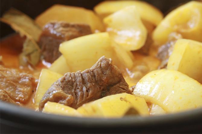 Curry Massaman de ternera, curry, curry tailandés, massaman, cocina tailandesa
