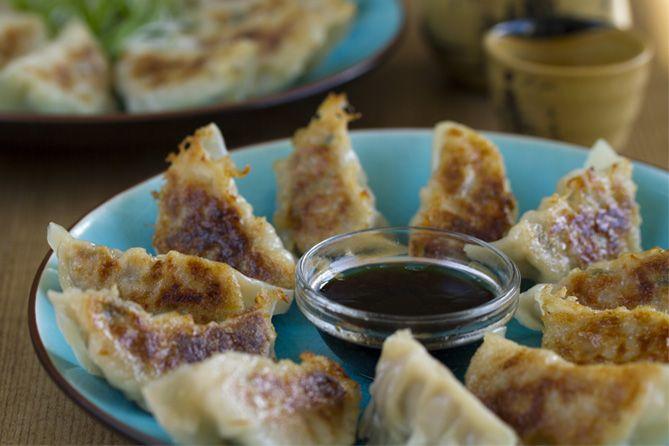 Gyoza, empanadillas japonesas, cocina japonesa, cocina asiática