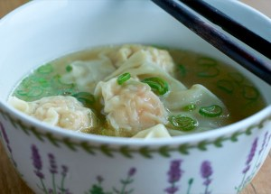 Sopa wonton, sopa wanta, sopa china, cocina china, cocina asiatica