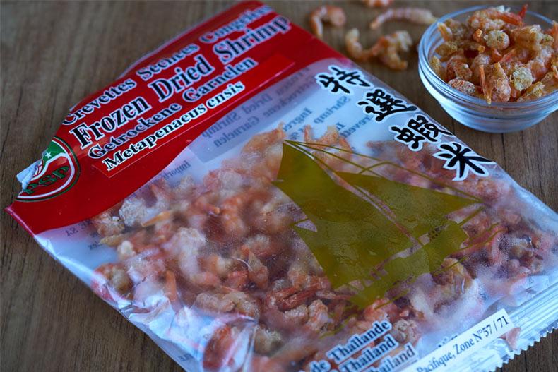 camarones secos, gambas secas, ingredientes asiáticos, productos asiáticos