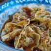 wonton estilo sichuan, wonton, wonton picante, wonton chino, receta de wonton, receta de wonton chino, wonton con salsa picante,
