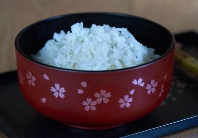 Arroz japones, gohan, como cocinar arroz, cocer arroz, preparar arroz