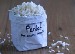 Panko, Pan rallado japonés, pan rallado, pan