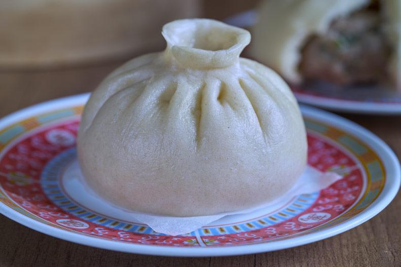 """Pan relleno al vapor """"Baozi"""" (包子)"""