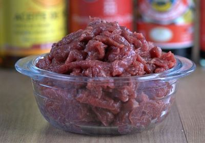 marinar carne, marinar ternera, carne chino, ternera china
