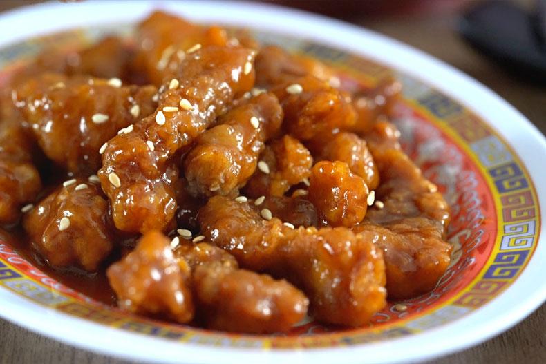 como hacer carne con salsa agridulce