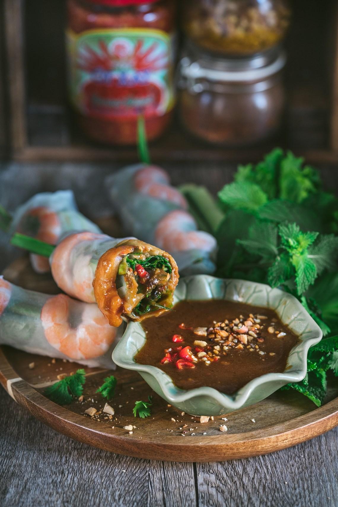 rollitos vietnamitas, rollitos fritos, goi cuon, rollitos de primavera, cocina vietnamita, comida vietnamita, rollitos