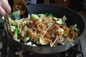 Yakisoba, fideos fritos japonés, frideos fritos, cocina japonesa, recetas japonesas