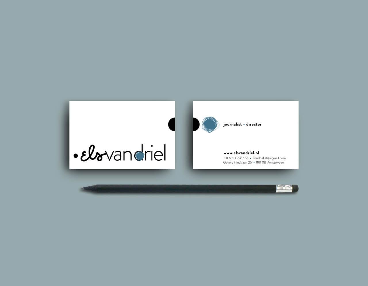 Identiteit en visitekaartjes Els van Driel