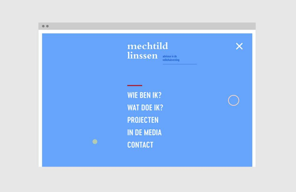 Mechtild Linssen website door Kwartier M
