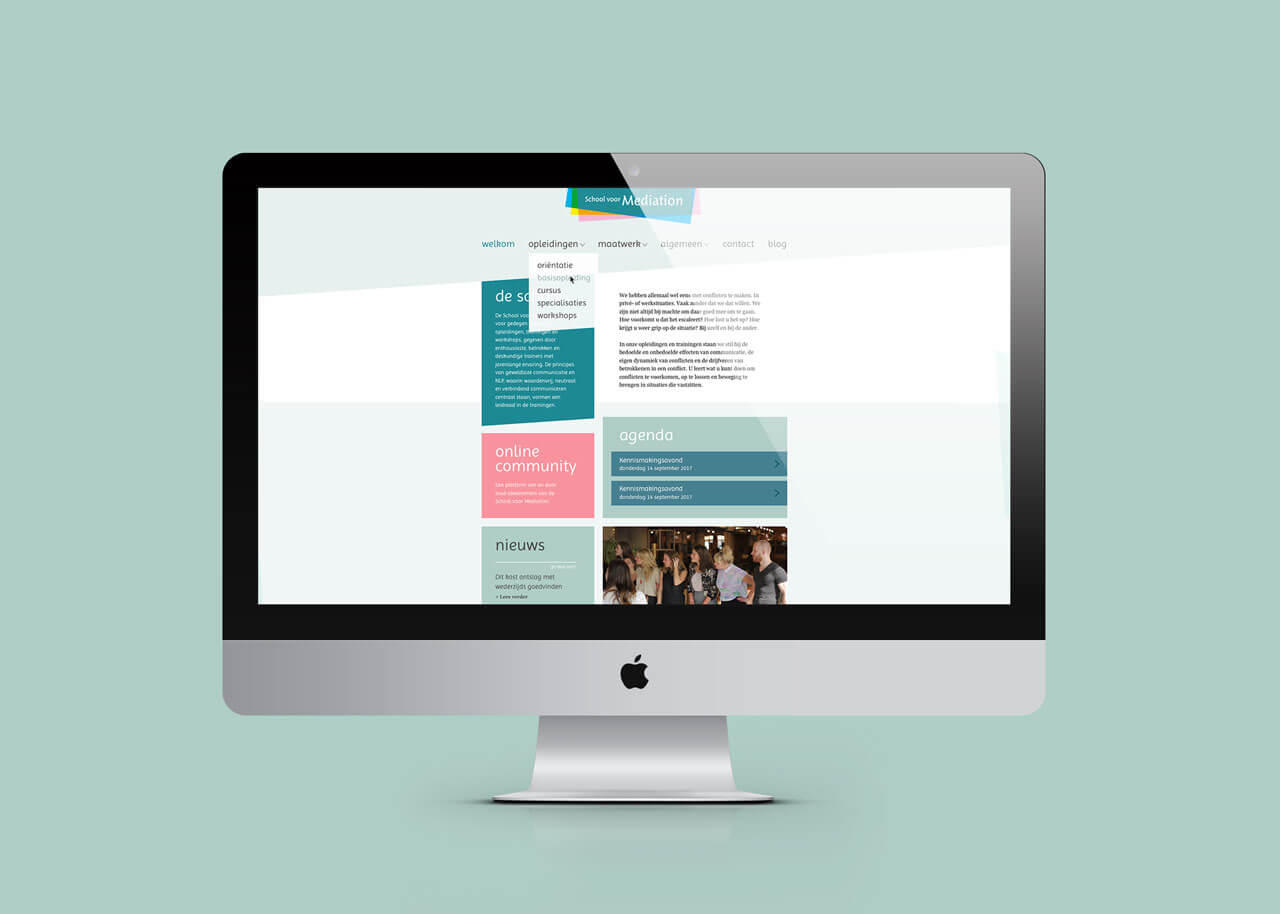 Website School voor Mediation