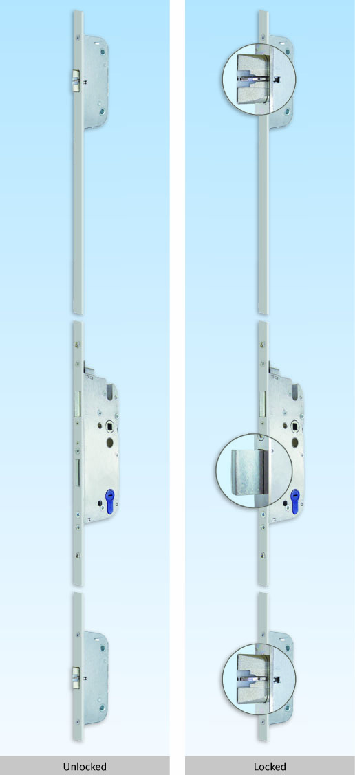 Multi Point Locks - Custom Door Hardware from KW Doors