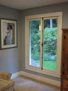 "This is a traditional European style ""Juliette"" window with cremone bolt hardware. One or both sash open inwards."