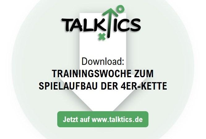 Trainingswoche zum Spielaufbau der 4er-Kette (Download)