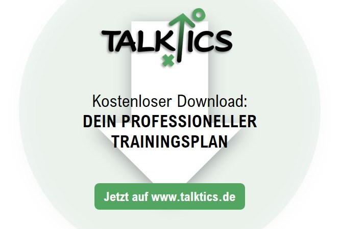 Dein professioneller Trainingsplan (Kostenloser Download)