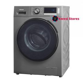 Hisense 8Kg Automatic Front Loading Washer & dryer- Silver
