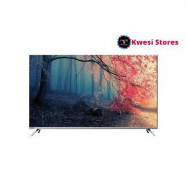 Changhong 65 inch 4K UHD Android 9.0 Smart TTV – Silver Black