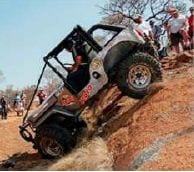 Modified A class: Nico Pretorius from Nelspruit, Mpumalanga with Hein Grobler as co-driver came first with their Jeep.