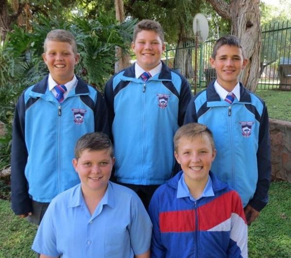 5 van Laerskool Thabazimbi se 0/12 Rugbyspelers is gekies as deel van 'n groep van 25 seuns wat komende Saterdag op Tzaneen sake gaan uitspook vir insluiting in die provinsiale span S0/12. Baie sterkte seuns ons hou styf duim vas.
