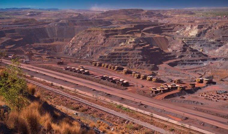 Kumba open cast mining