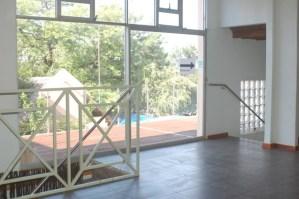 Gebou top floor Nothern view with upper deck