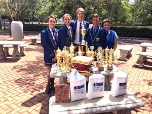 Gr12 Trofee leerlinge