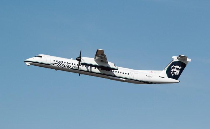 11 Aug gesteelde vliegtuig Q400 4