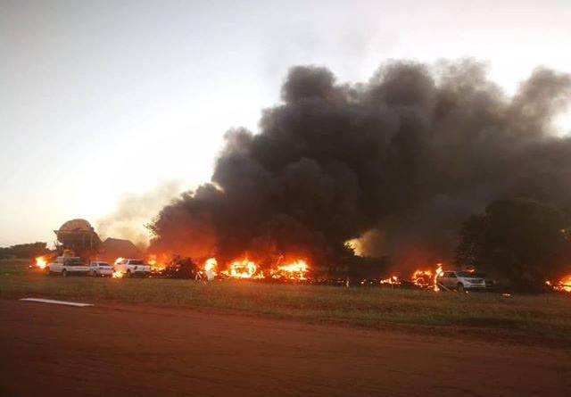 2019 24 Mrt Botswana vliegtuig 1